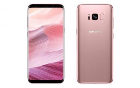 Samsung Galaxy S8 Rose Pink cop