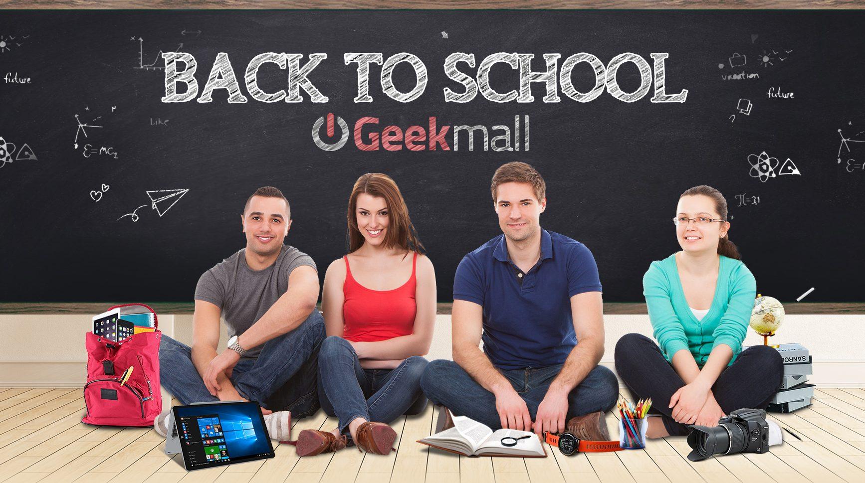 """Il """"back to school"""" con tantissimi prodotti in offerta va di scena su GeekMall.it"""