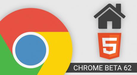 Chrome beta 62