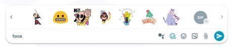 Google allo for web smart smiley