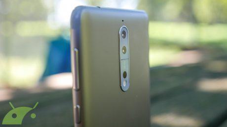 L'app fotocamera di Nokia 5 supporta già alcune delle possibili funzioni di Nokia 9