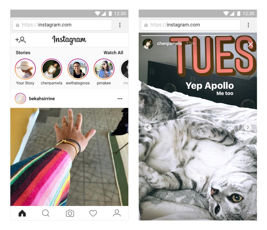Instagram, le Storie si possono vedere dal web