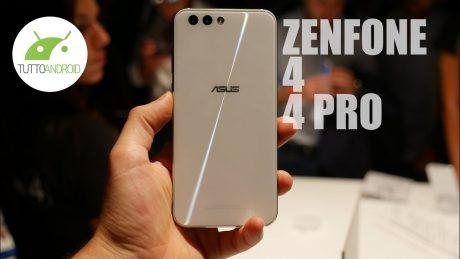 ASUS Zenfone 4, Zenfone 4 Pro, Selfie, Selfie Pro: la nostra anteprima