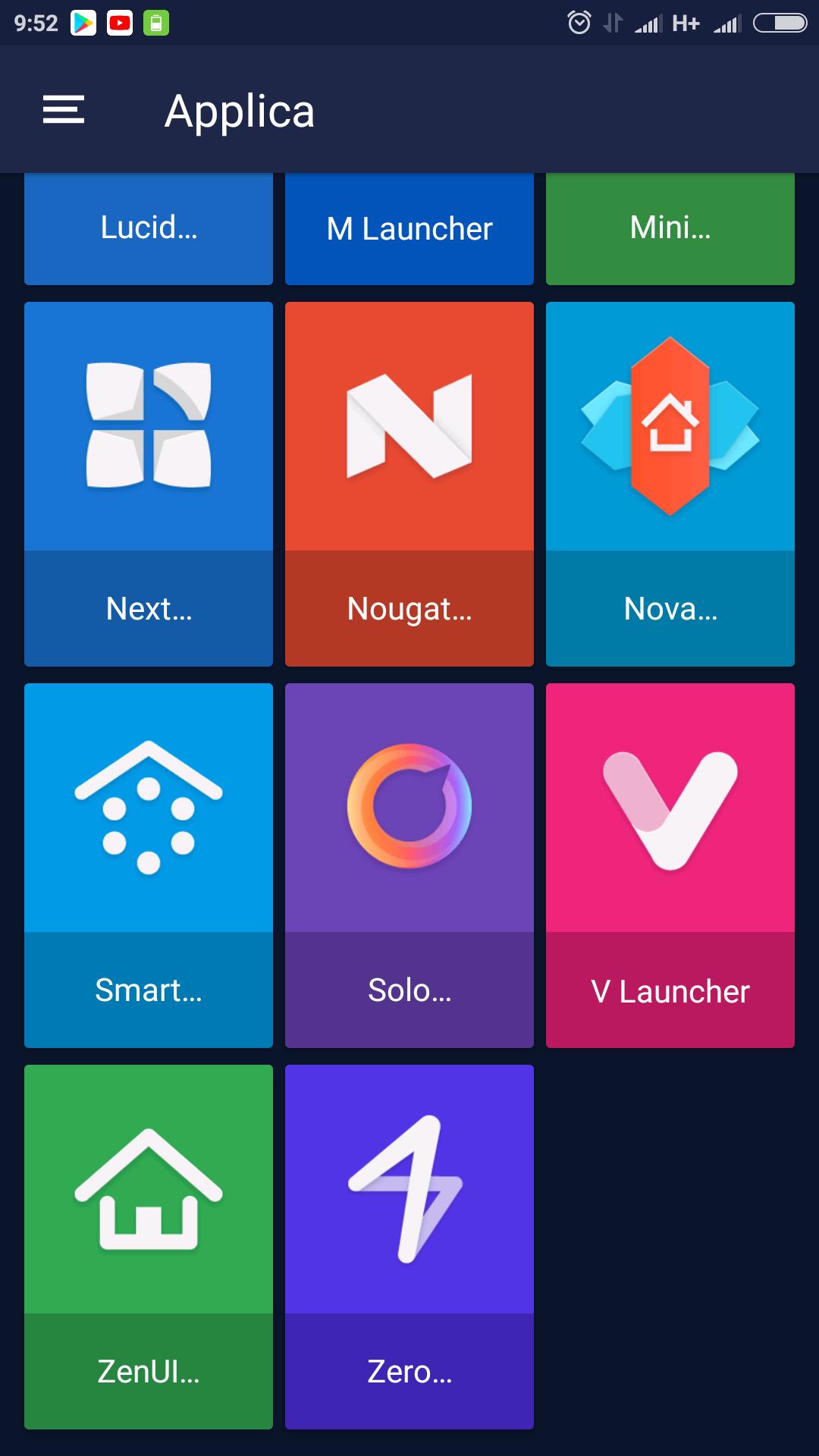 Frozy material design icon pack offre icone in full hd e for Sfondi material design