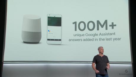 Google Assistant 100M Risposte