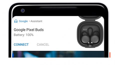 Google Pixel Bud Bluetooth Battery Level