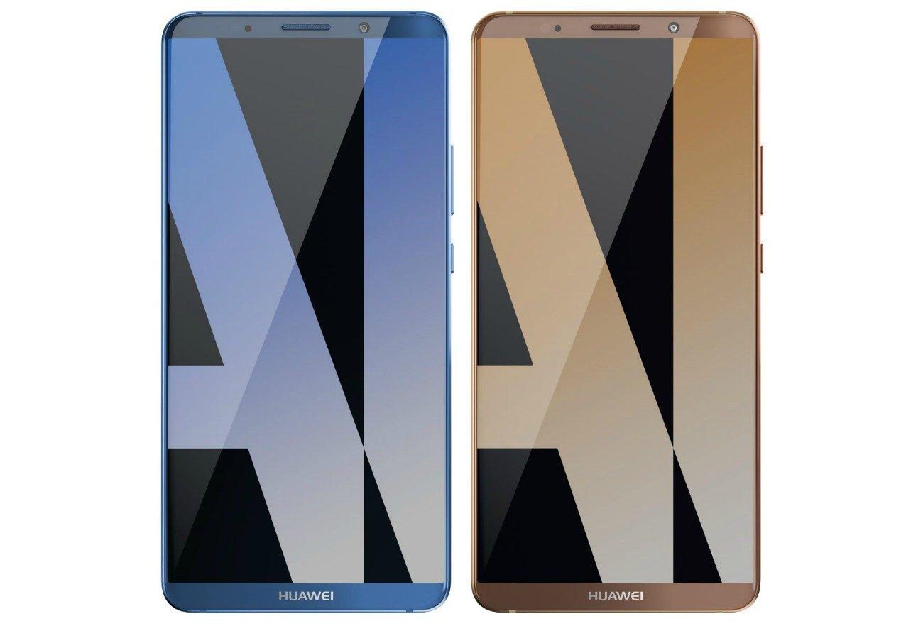 Questo è il Huawei Mate 10 Pro, parola di Evleaks