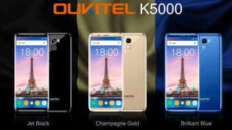 OUKITEL K5000 colors