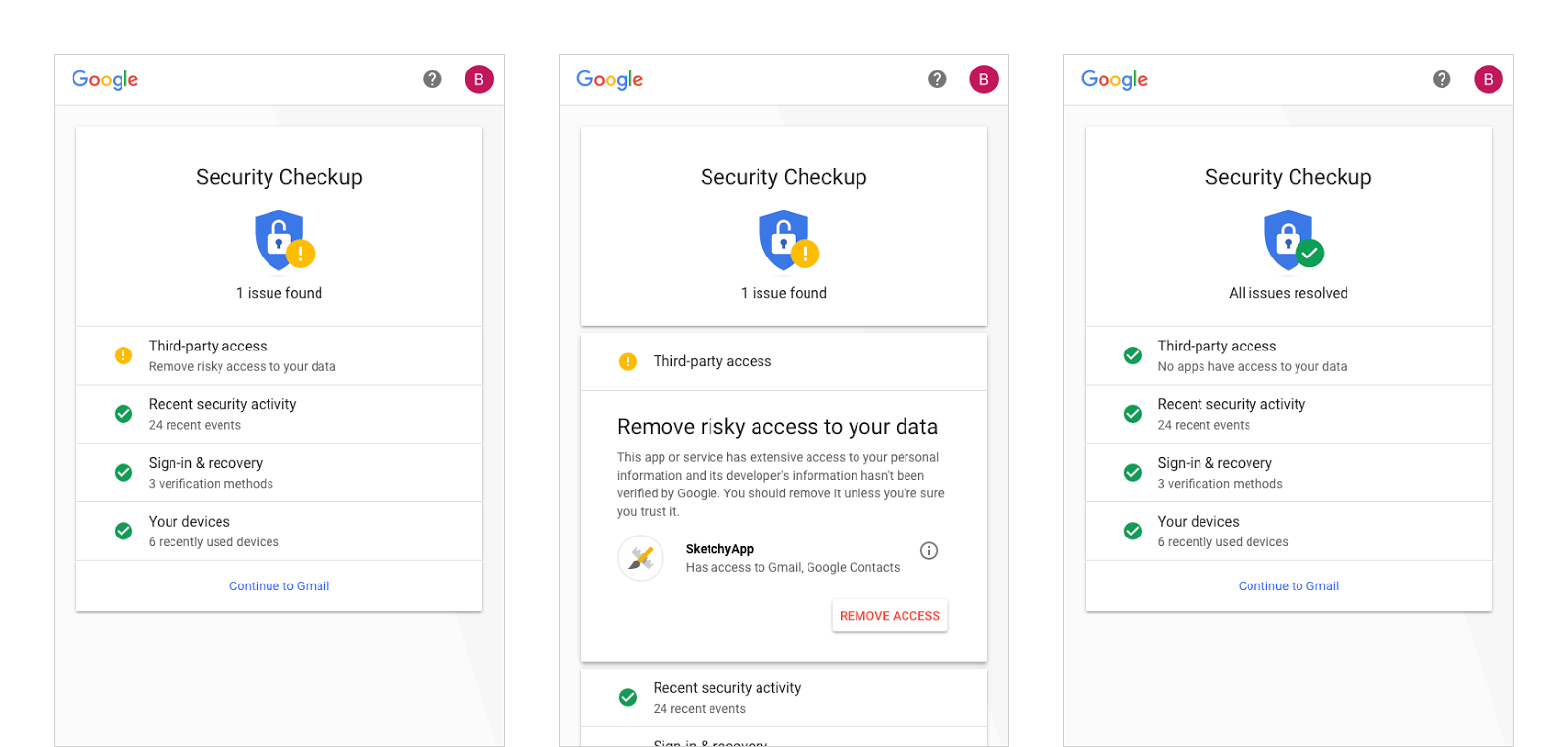 Google presenta i nuovi strumenti per la sicurezza del - Bloccare apertura finestre chrome ...