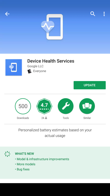 Device health services 1
