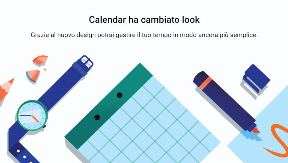 Google Calendar si aggiorna finalmente al Material Design nella versione web