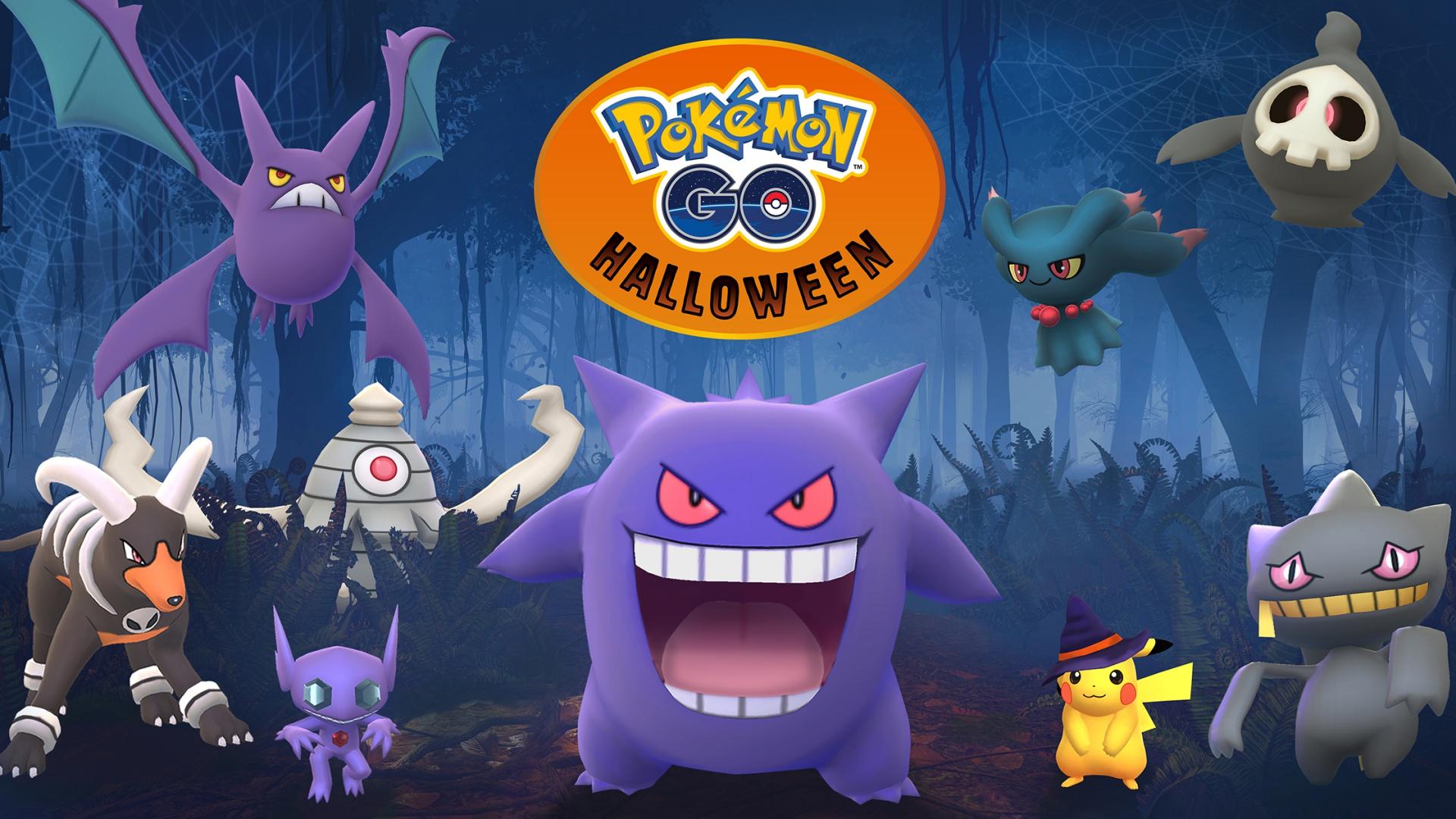 L'aggiornamento di Halloween porterà in Pokémon GO i mostri delle versioni Rubino e Zaffiro