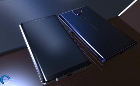 Nokia 9 render concept