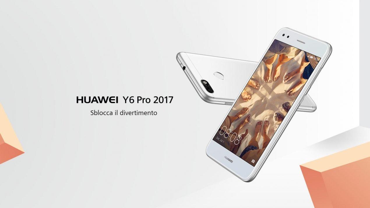 Huawei Y6 Pro (2017) - un nuovo smartphone in arrivo nei negozi europei