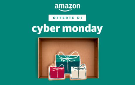 Amazon riparte con le offerte del Cyber Monday: ecco quelle di oggi