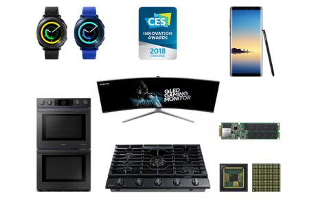 CES 2018 Innovation Awards Samsung