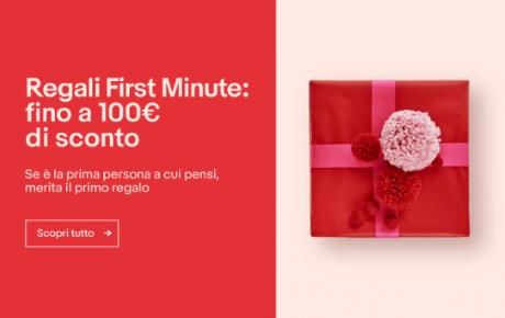 Ebay Regali first minute 1