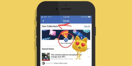 Facebook sta testando le Collections, feature ripresa da Instagram