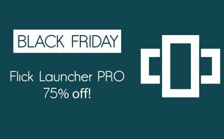 Flick Launcher PRO Offerta Black Friday