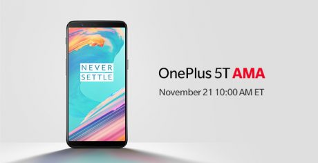 Join our OnePlus 5T AMA now 780