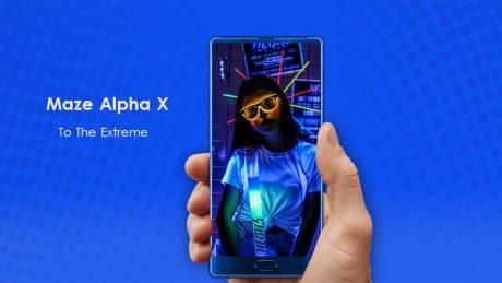 Maze Alpha X Blue