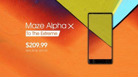 MAZE Alpha X è in prevendita fino al 26 novembre a 179 euro