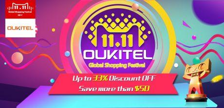OUKITEL 1111 flash sale