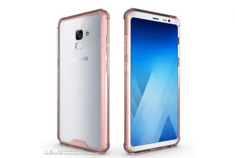 Samsung Galaxy A7 2018 render cover 2