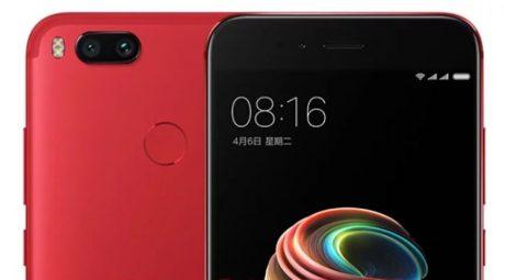 Xiaomi Mi 5X Red e1510474189691