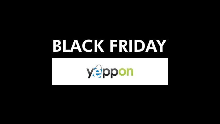 Sconti da paura per il Black Friday di Yeppon.it