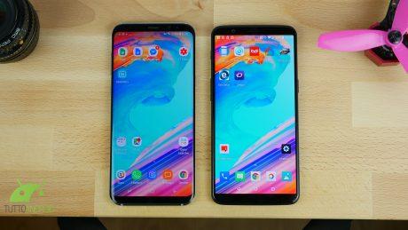 Galaxy s8 plus vs op5t