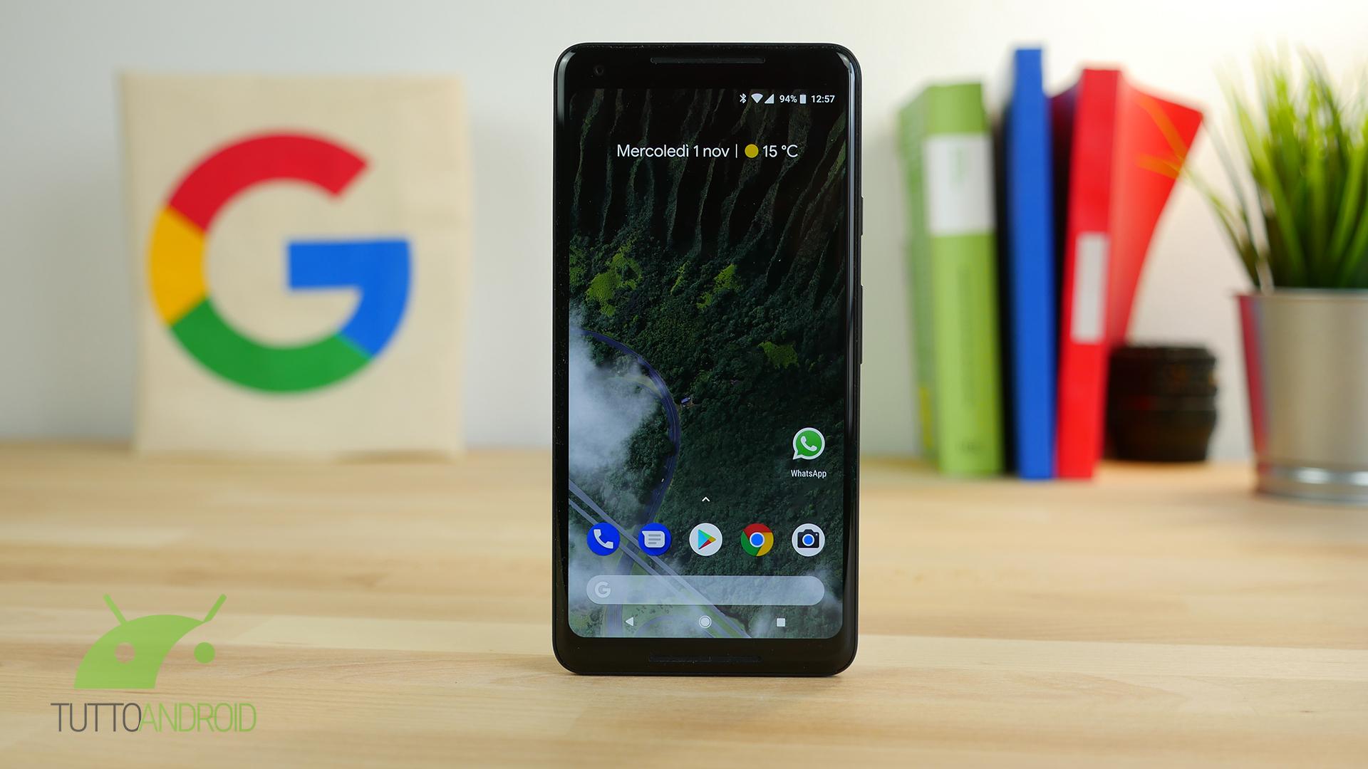 Arriva il primo update di sistema via Google Play Store in Italia |  in roll out per i Pixel