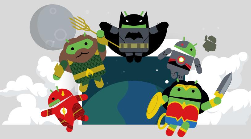Google vi propone due sfondi per il film Justice League da scaricare