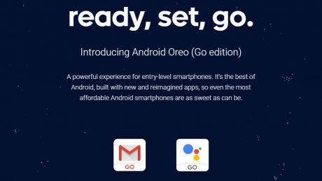 Android Oreo Go MediaTek