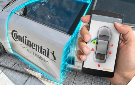 Smartphone al posto delle chiavi dell'auto? Con Continental e Avis è realtà