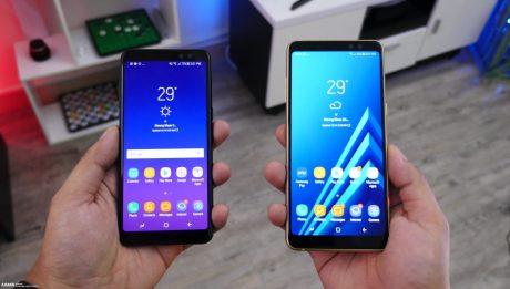 Galaxy A8 2018 series 10