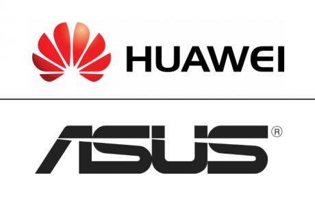 Huawei ASUS logo