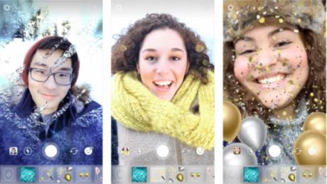 Instagram rilascia nuovi effetti superzoom, filtri e stickers a tema natalizio