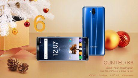 OUKITEL K6 integra tutto quello che potete volere da uno smartphone di fascia media