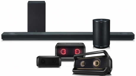 LG Meridian speaker CES 2018