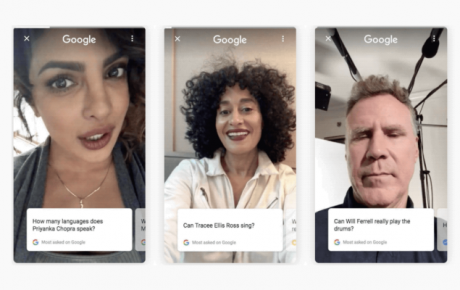 Ricerca Google celebrità