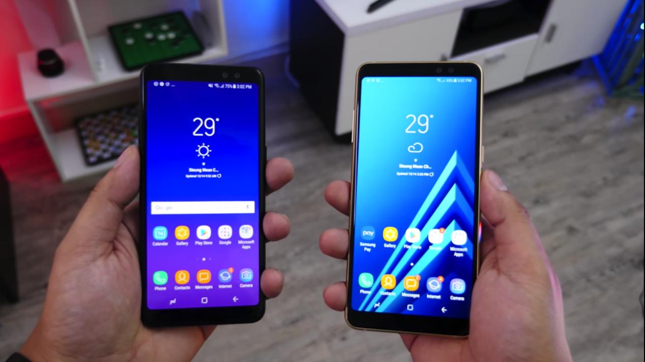 Samsung Galaxy A8 2018 E A8 Plus Protagonisti Di Una