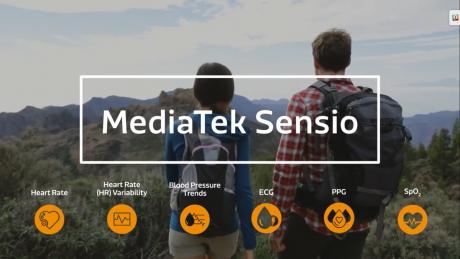 MediaTek presenta Sensio, il bio sensore per smartphone, e tituba sul processo a 7 nanometri
