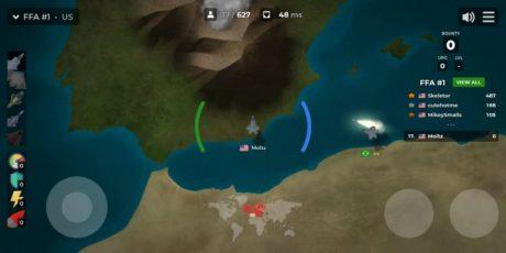 Airmash, un gioco di combattimento aereo in HTML5 per smartphone e PC