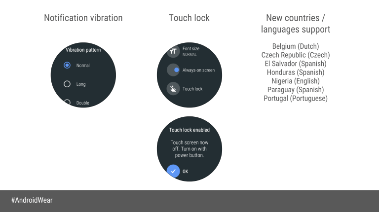 Oreo in distribuzione anche per Android Wear