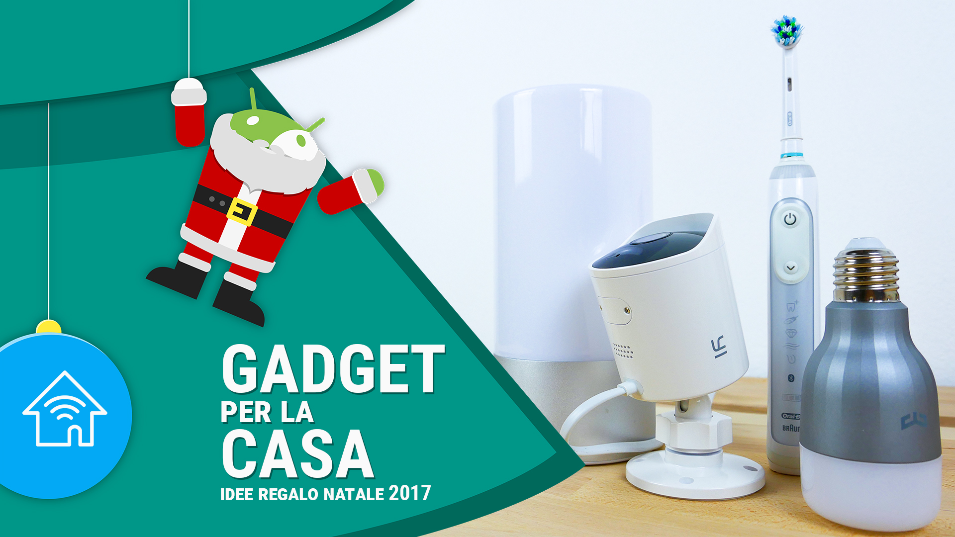 Idee regalo natale 2017 i migliori gadget tecnologici per - I migliori antifurti per casa ...