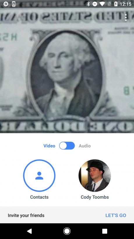 Google duo v25 grafica