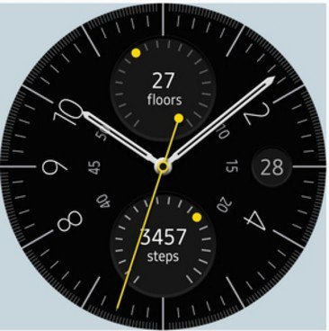 Watchface samsung gear s2 e s3 analog utility