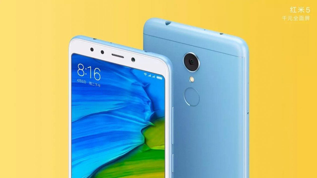 Tante colorazioni per Xiaomi Redmi 5 e 5 Plus