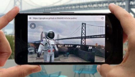 Google porta la realtà aumentata sul web: ecco a voi Article